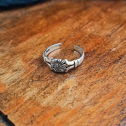 Sunflower Toe Ring