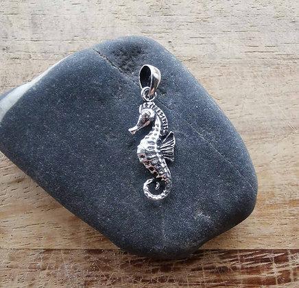 3D Seahorse Pendant