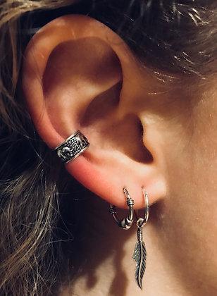 Elephant Ear Cuff (Hoops Not Included)