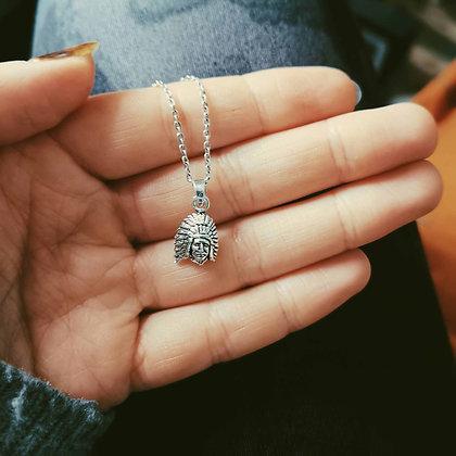Silver Chief Necklace