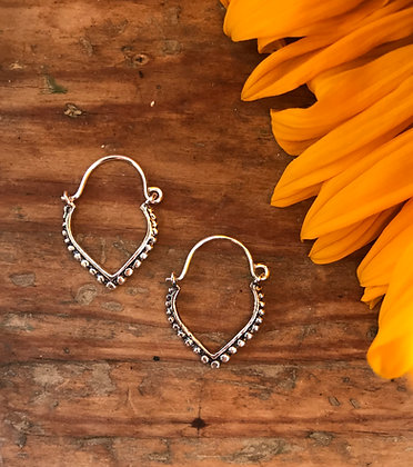 Small Triangle Earrings