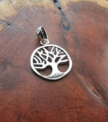 Silver Tree Of Life Pendant (available in various sizes)