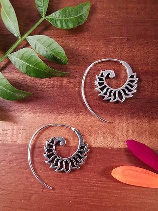 Petal Spiral Earrings