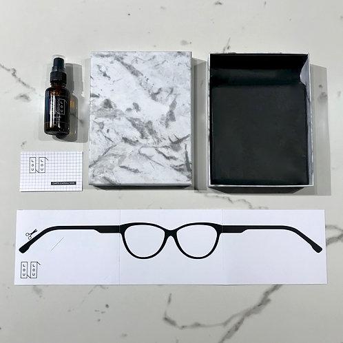 opticien Lunettes createur lyon coffert boite cadeau noel design