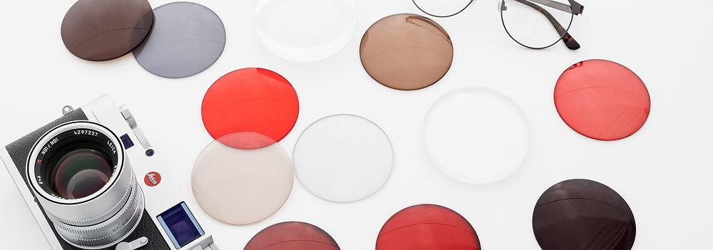 verre teinte couleur Leica opticien design créateur loulou lyon