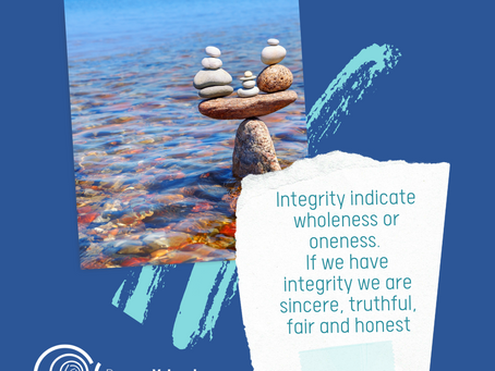 Integrity Indicates Wholeness