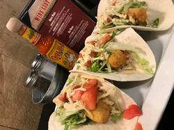 Fish Tacos at Bucks
