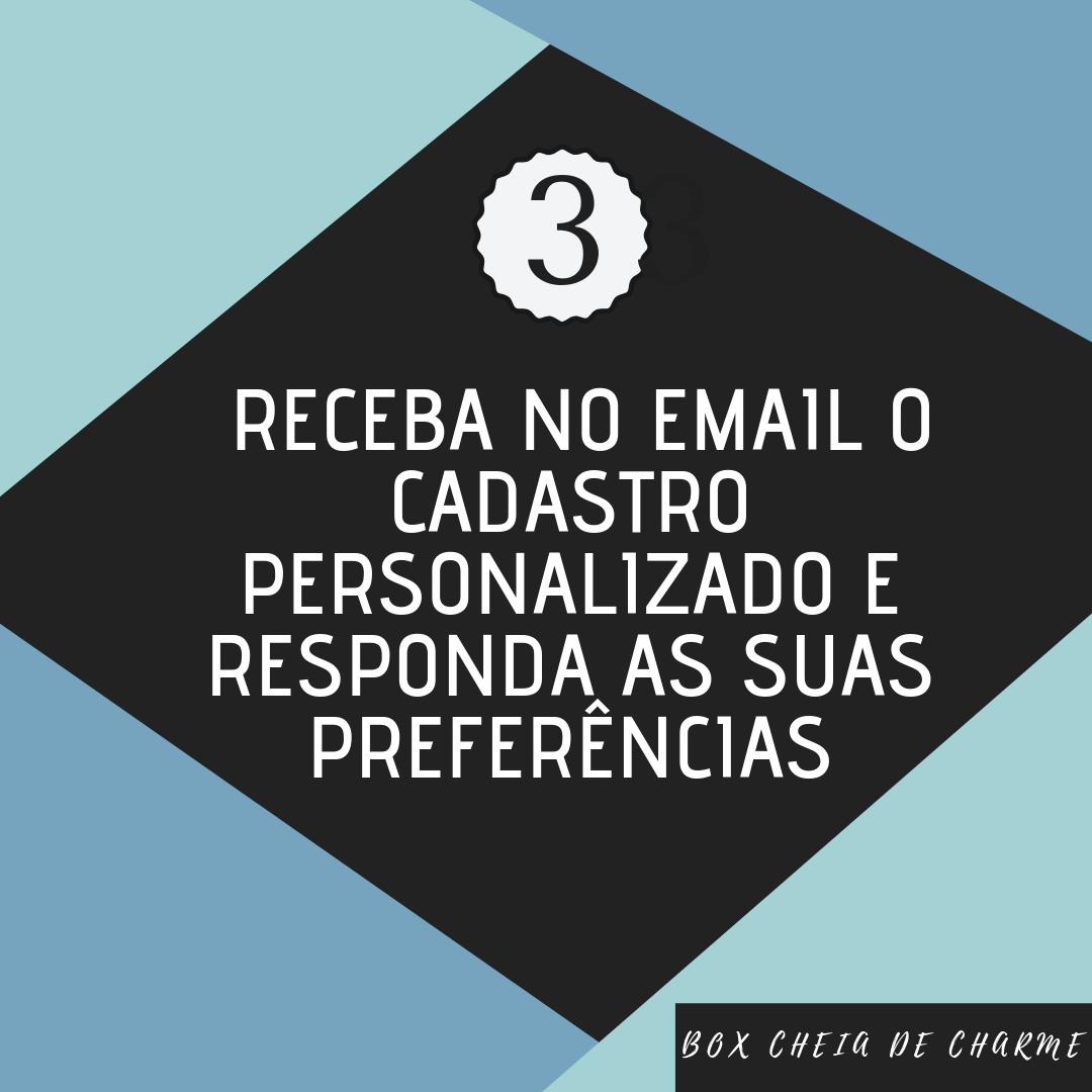 Receba email