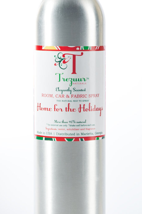 Scented Room Spray Home for the Holidays