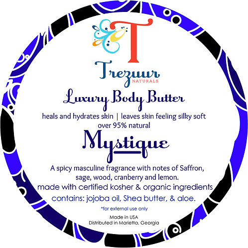 Scented Body Butter Mystique
