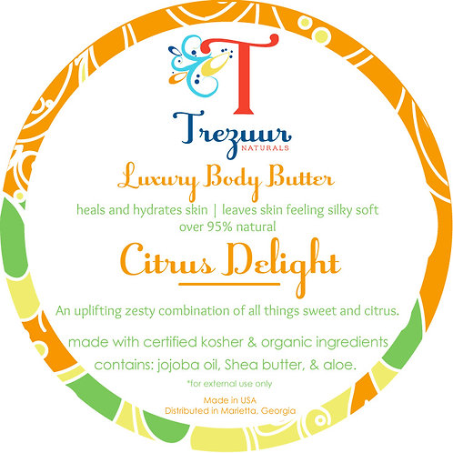 Scented Body Butter Citrus Delight