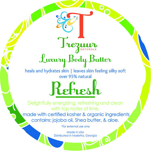 Scented Body Butter Refresh