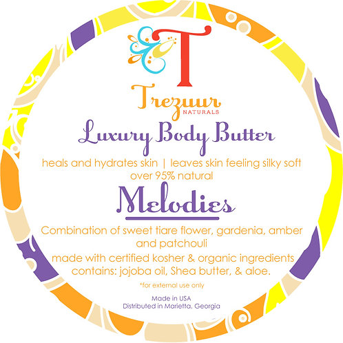 Scented Body Butter Melodies