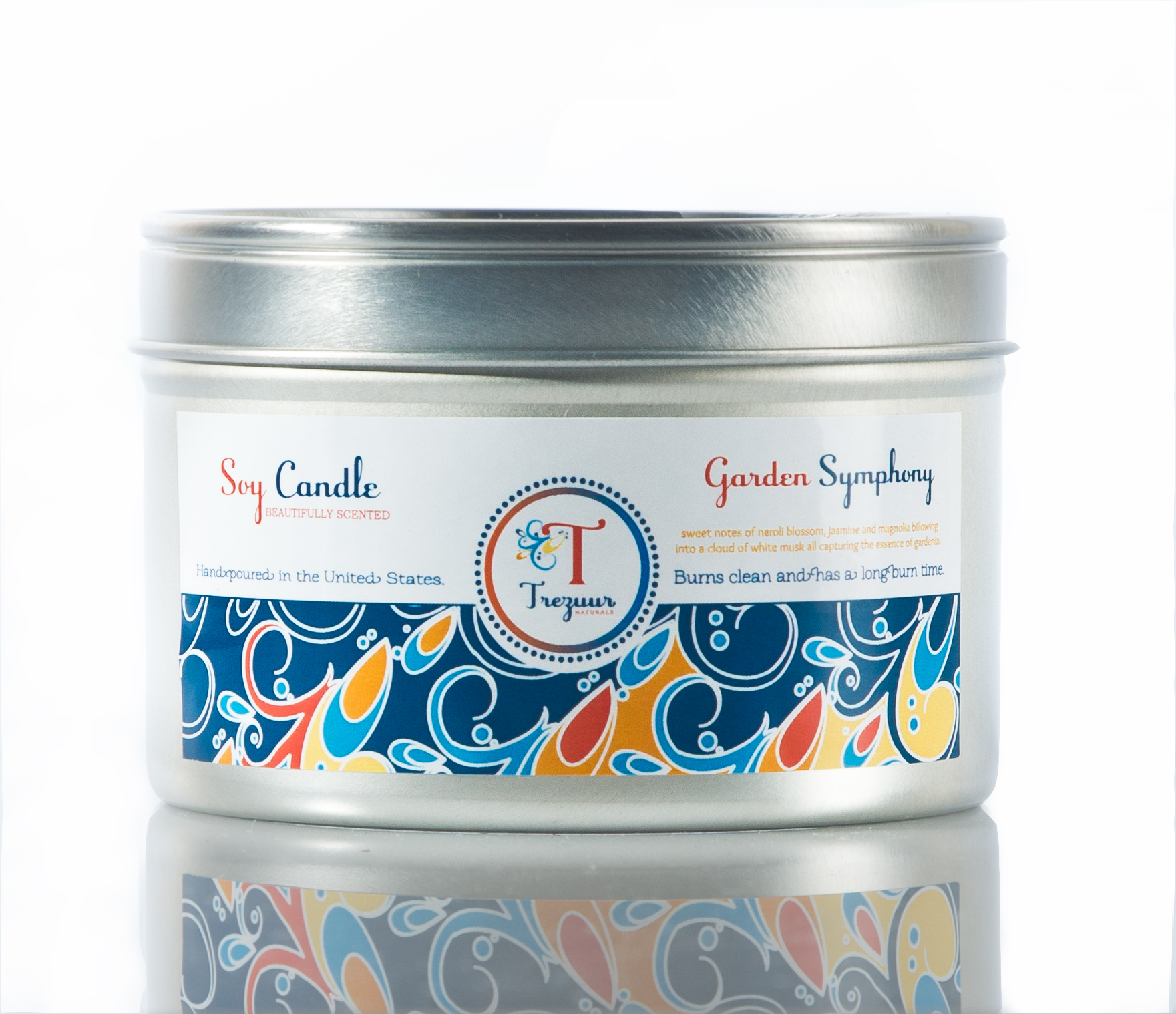 Garden Symphony Candle