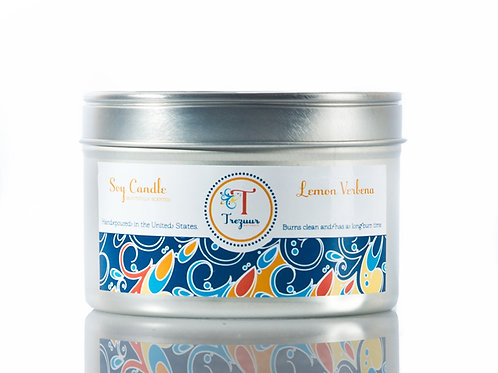 Scented Soy Candle Lemon Verbena