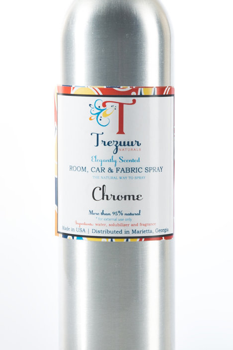Scented Room Spray Chrome