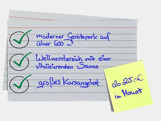 Angebot Faridas Frauen Fitness Hamburg