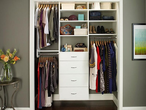Messy Closet Makeover (1.5 hrs. per Expert Cleaner)