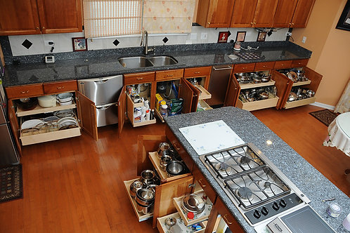 Kitchen & Bathroom Cabinet Interiors Cleaning - For Vacant Properties