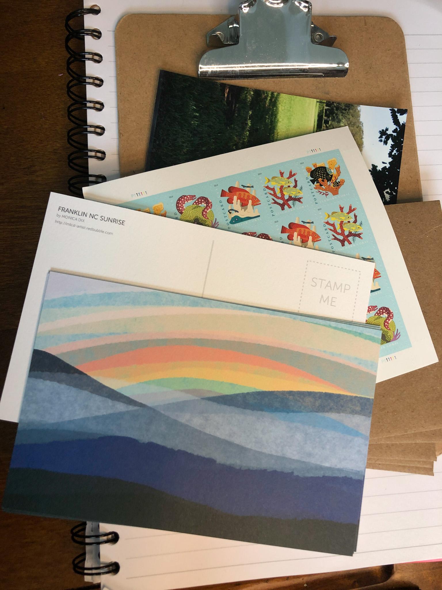 sunrise notecards
