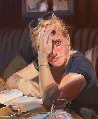 (Commission) Color Portrait Print