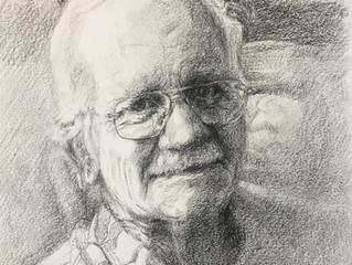 Drawing Grandpa