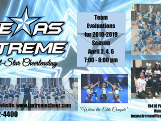 Come be apart of our Cheer Family!