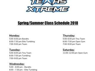 New Schedule!