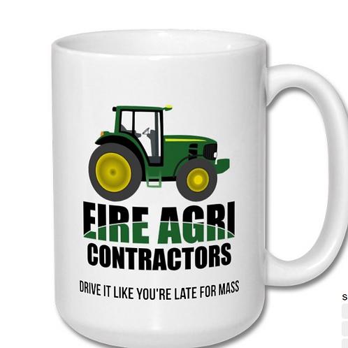 Eire Agri Contractors Mug: 15 oz