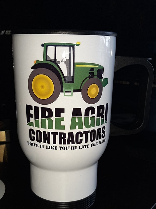Eire Agri Contractors Travel Mug