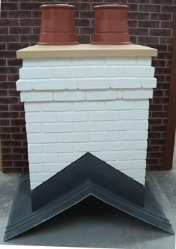 White Brick Chimney