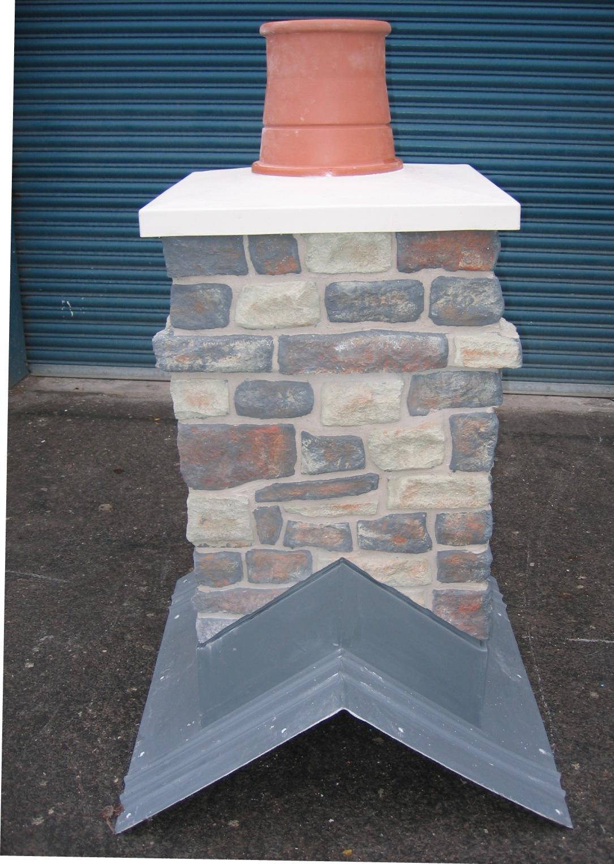 Stone Effect Chimney