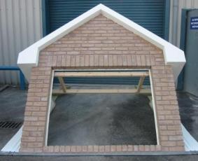 Brick Clad Dormer Feature