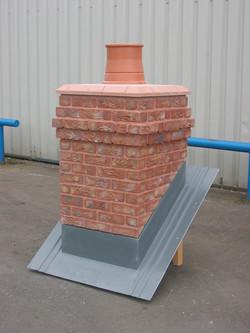 Traditional Brick Chimney