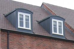 GRP Lead Effect Dormer Windows