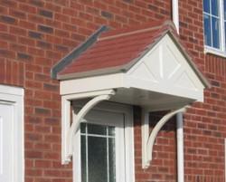 Apex Tile Door Canopy