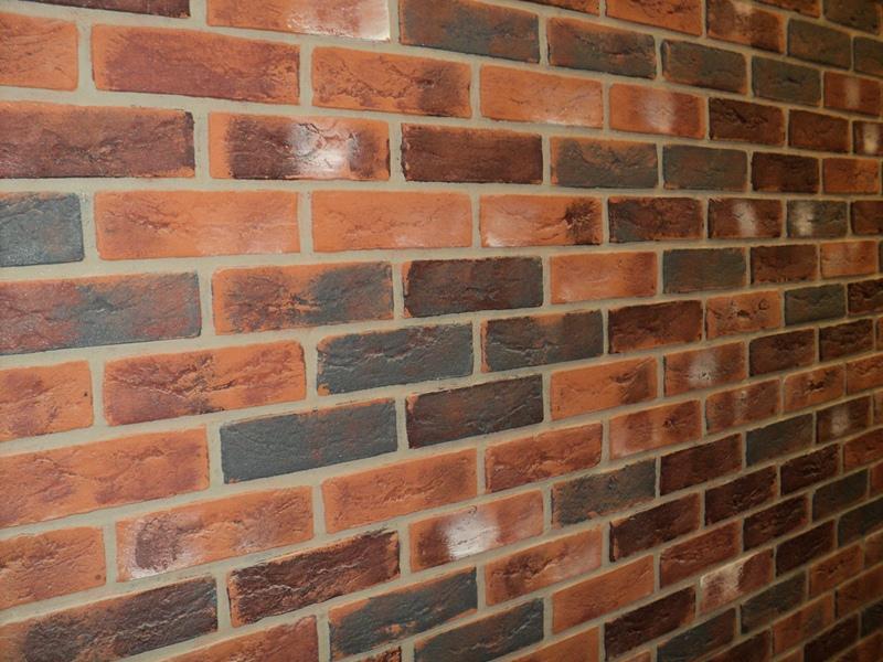 Aged Brick cladding
