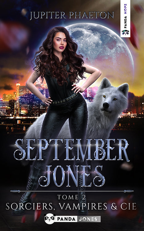 Sorciers, Vampires et Cie - September Jones T.2