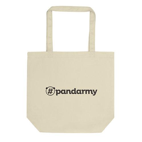 Tote Bag Bio #Pandarmy logo noir