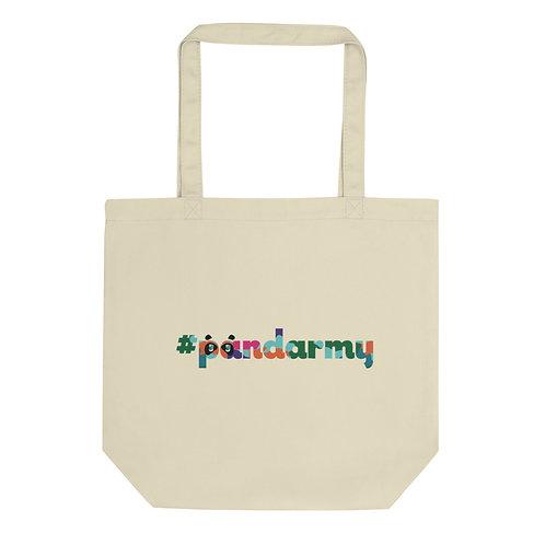 Tote Bag Bio #Pandarmy logo multicouleur camouflage