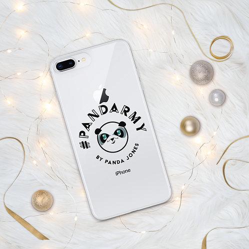 Coque pour iPhone #Pandarmy Logo Panda Jones
