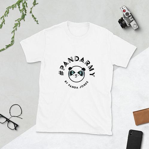 T-Shirt Unisex #pandarmy logo Panda Jones noir