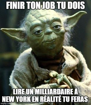 Meme yoda milliardaire
