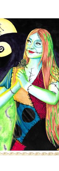 Sally Nightmare Before Christmas Art Pri