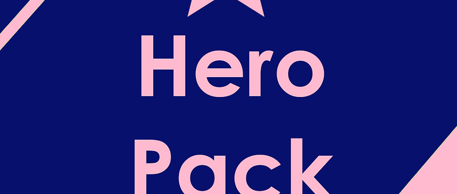 Hero Pack (4 Stickers)