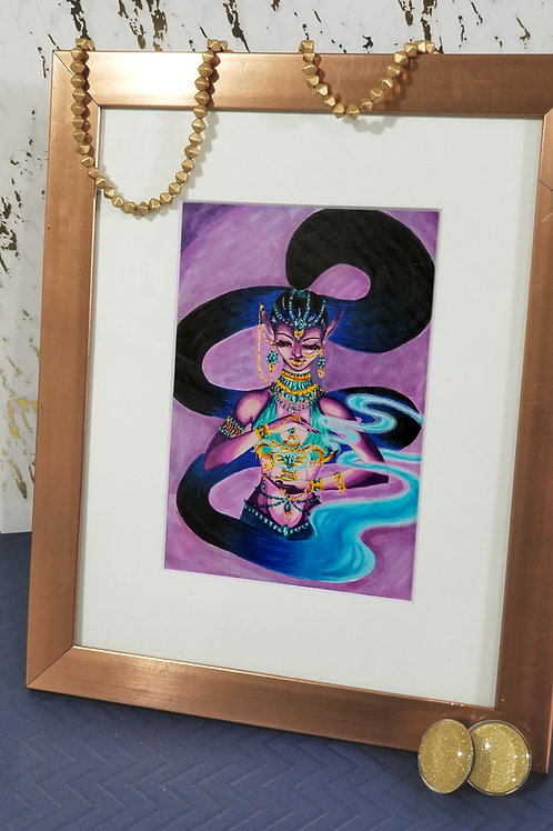 Jeweled Genie Original