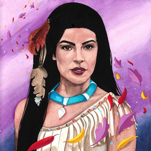 Pocahontas Fan art
