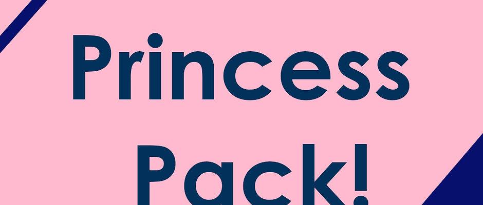 Princess Pack (8 Stickers)