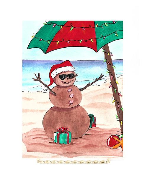Summer Snowman Original