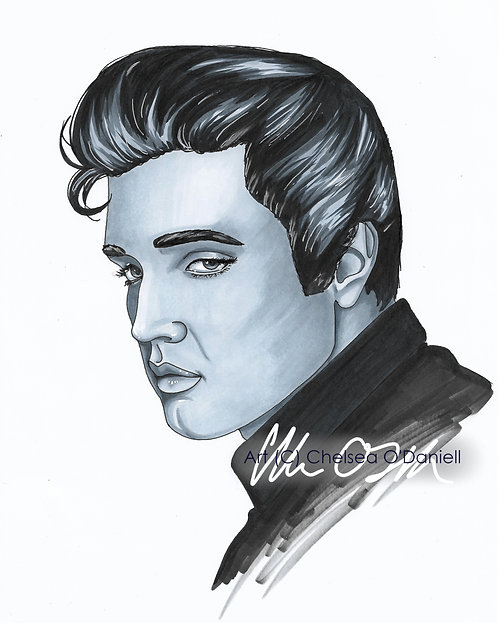 Elvis Fan art